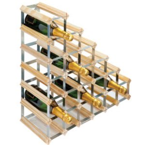 Rta 27 Bottle Under Stairs Wine Rack Assembled